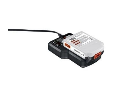 Black and Decker 20 volt Lithium Battery and Charger Combo