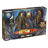 Doctor Who Series 2 Figure Set: Cyber Controller, Tenth Doctor & Hoix