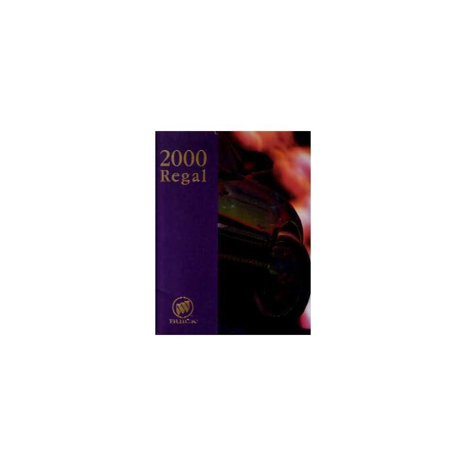 2000 Buick Regal Sales Brochure Literature Book Advertisement Dealer