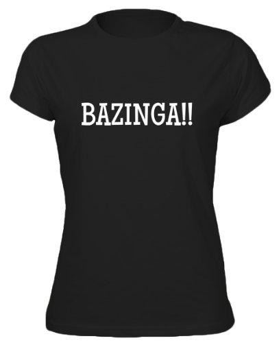Bazinga!! - Geeky Nerdy Phrase Womens T-Shirt