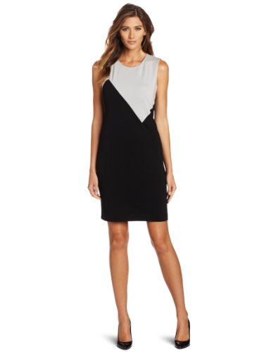 Kenneth Cole Women's Ponte Color Block Dress