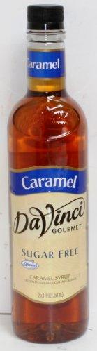 Da Vinci Gourmet Sugar Free Caramel Syrup, 750Ml Bottle By Davinci Case Of 6 front-1044210