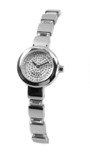 Esprit EL900392002 - Reloj analógico de cuarzo para mujer con correa de acero inoxidable, color plateado