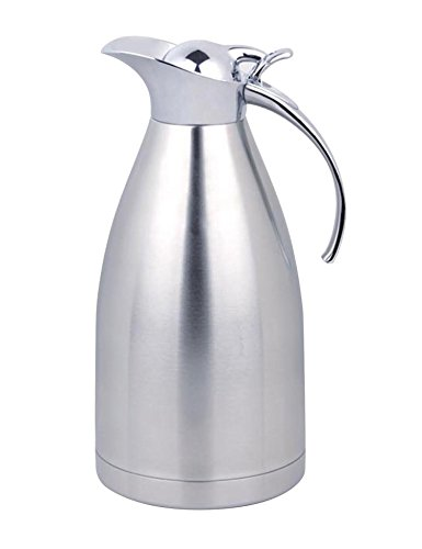 Panesor 2.2 Liter(75 Ounce) Thermal Coffee Carafe Stainless Steel Carafe Coffee Pot (Drink Carafe compare prices)