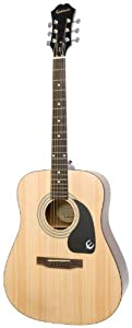 Epiphone DR 100 Acoustic Guitar available at Amazon for Rs.9000