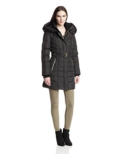 Kensie Women's Puffer Coat  [Black]