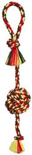 Monkey Fist Tug Dog Toy in Multi  Size: Large