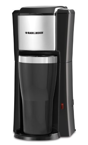 Black & Decker Single Serve Coffee Maker, Black, Garden, Lawn, Maintenance