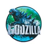 "*FREE STANDARD SHIPPING - Godzilla 3 7/8"" Round Cake Topper Plaque - We Ship Within 1 Business Day w/ *FREE Standard Shipping!"