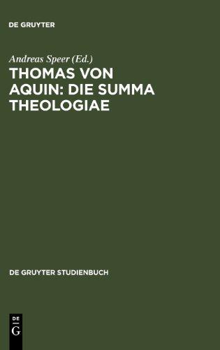Thomas von Aquin. Summa theologiae. Werkinterpretationen (Gruyter - de Gruyter Studienbücher) (De Gruyter Studienbuch)