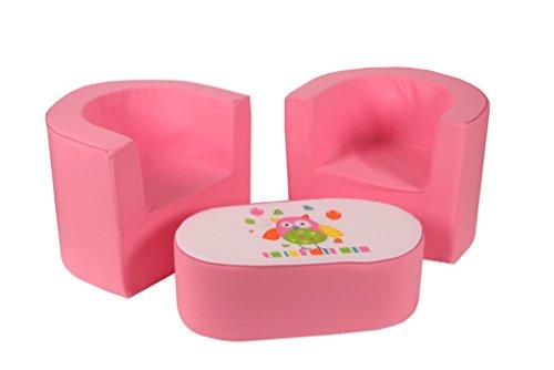 knorrbeb mesa de caf y sillas para las nias rose