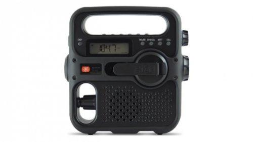 Eton FR360B Solarlink Self-Powered Digital AM/FM/NOAA Radio (Black)