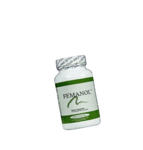 Femanol (1) Bottle 60 Capsules For Vaginal Odor & Discharge - Bad Breath - Build Stronger Hair And Nails