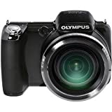 Olympus, Model: SP810UZ, Olympus SP-810 Ultra Zoom 14MP Digital Camera, 36x Optical Zoom, 24mm Wide-Angle Lens, HD Movie, 3 inch LCD, Black