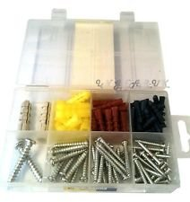 Smart Tools - 100Pc Anchors and Tapping Screws