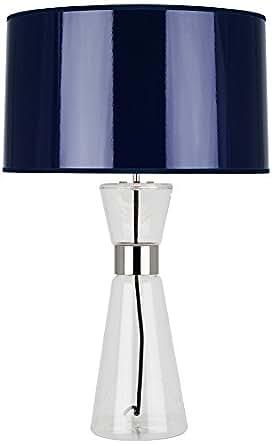 robert abbey penelope large navy blue shade table lamp. Black Bedroom Furniture Sets. Home Design Ideas