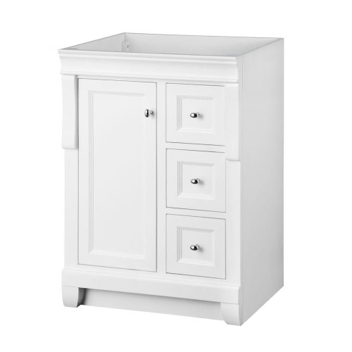Foremost Nawa2421d Naples 24 Inch Width X 21 Depth Vanity White Furniture Cabinets Storage