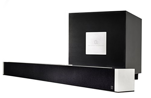 Definitive Technology W Studio Wireless Black Sound Bar & Subwoofer System