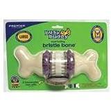 PetSafe Busy Buddy Bristle Bone Dog Toy, Large