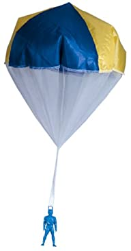 Tangle-Free Toy Parachute, Multi-Color