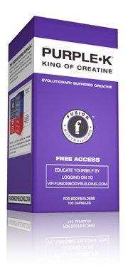 Bodybuilding Fusion Purple-K 100 caps Kre-Alkalyn