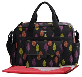 Baby Baggage Baby Nappy Changing Bag 3Pcs - Black