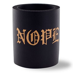 SUPERKOLDIE Nope Foam Can Cooler, One Size, 1 Piece, Black (Foam Cooler Inserts compare prices)