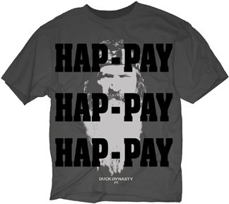 Duck Dynasty Hap-Pay Happy Face T-shirt