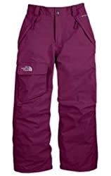 The North Face Girls' Freedom Insulated Pants GRAVITY PURPLE S
