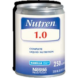 Nestle Nutren 1.0 Vanilla 8 Ounce Can front-943026