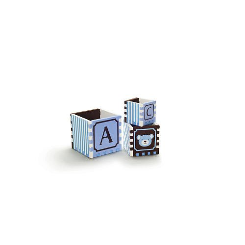 Bath Puzzle Blocks by FAO Schwartz - Blue