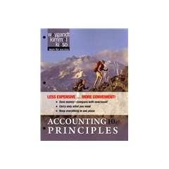 Accounting Principles 10th edition Binder Ready Version (9781118009291)