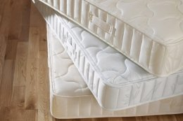 Joseph Alhab 8  Orthopaedic Micro Quilted Hypo Allergenic Mattress, 4ft 6in Double       review and more information