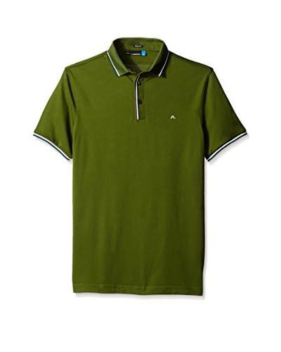 J.Lindeberg Golf Men's M Cail Reg Tech Mesh Jersey Polo