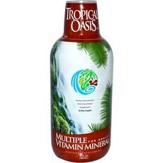 Tropical Oasis Multiple Vitamin Mineral For Adult (1X16Oz )