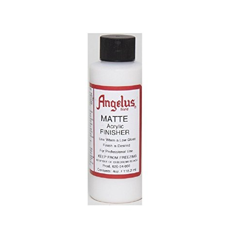 Angelus Brand Acrylic Leather Paint Mate Finisher No. 620 - 4oz (Shoe Paint compare prices)