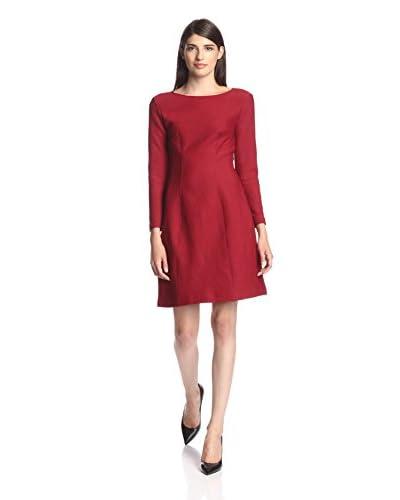Natori Women's Textured Seamed Dress