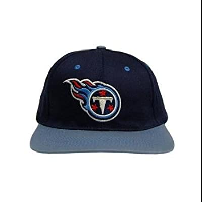 NFL Snapback Cotton Tennessee Titans Hat Cap - Navy/Baby Blue WLM