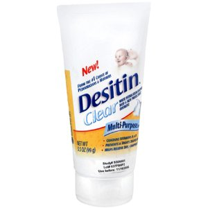 Special Pack Of 5 Desitin Clear 3.5 Oz