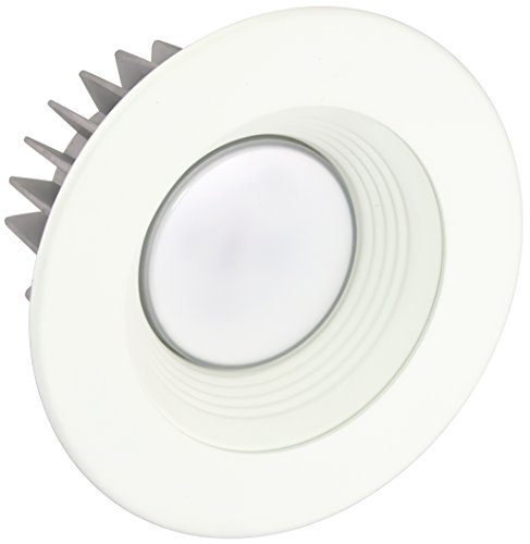 American Lighting X4-Whb-Wh-X45 4-Inch Downlight X45 Series Trim Kit With White Baffle, White