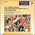 Elgar: Enigma Variations / Military Marches No. 1-5 /The Crown of India (Essential Classics)