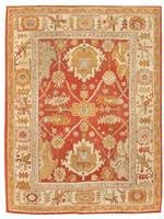 Antique Oushak Turkish Rug / Carpet