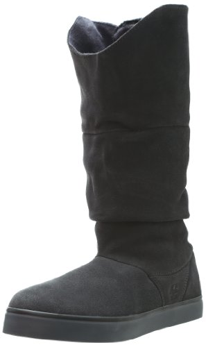 Etnies Womens SIESTA W'S Combat Boots Gray Grau (DARK GREY/BLACK 022) Size: 2.5 (35 EU)