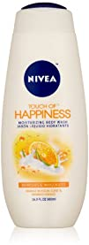 Nivea Touch Of Happiness Moisturizing Body Wash Orange Blossom