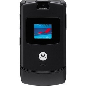 AT&T Motorola RAZR V3 No Contract Quad Band GSM