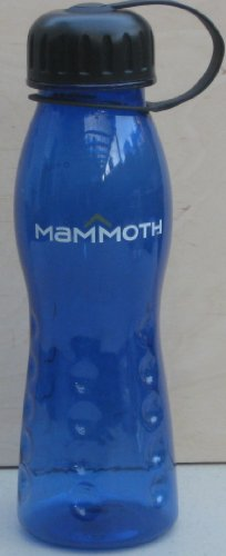 Mammoth Water Drinking Bottle - Blue - Mammoth is a large ski resort great for hiking, and walking