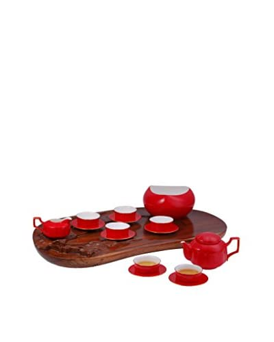 Auratic Ya Tea Set, Red