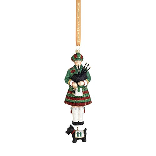Reed & Barton C5010 Eleven Pipers Piping Ornament