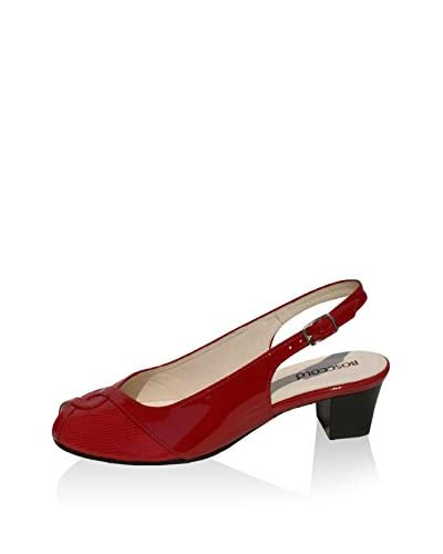 BOSCCOLO Zapatos de talón abierto Rojo EU 39