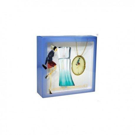 Adolfo Dominguez Agua De Bambu Eau De Toilette Spray 50ml Set 2 Parti 2015